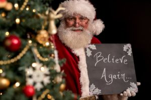 Santa claus believe again